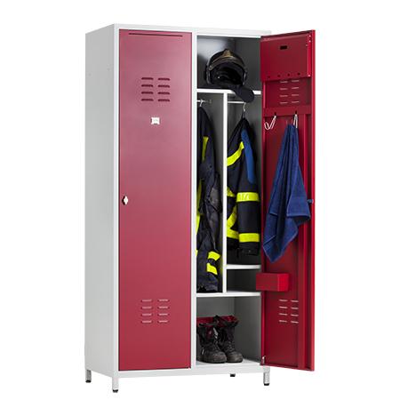 Brandweer garderobekasten